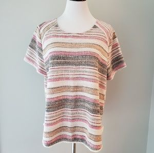 Anthropologie 'W5 Concepts' Boho Fringe Woven Top
